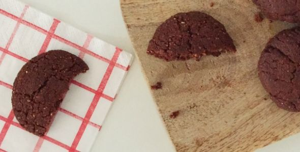 Koolhydraat arme chocolade koekjes