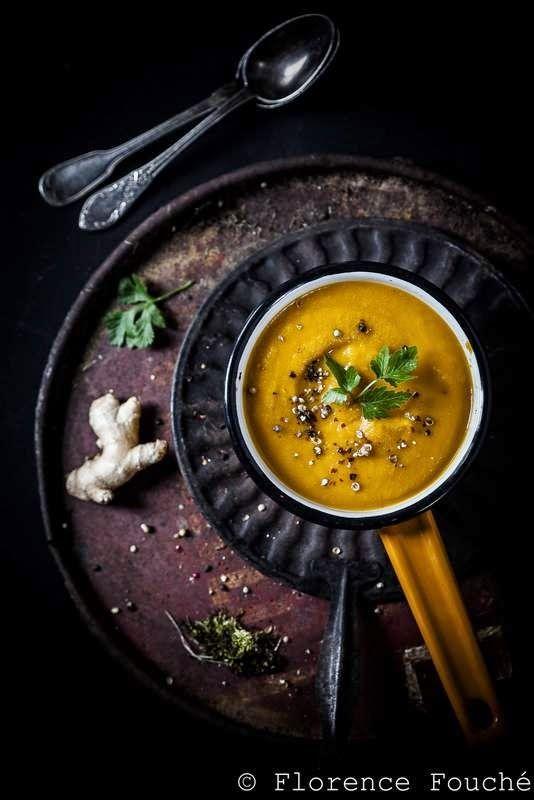 Gourmandises Chroniques: Velouté carottes gingembre - Entre rondeur et raffinement...