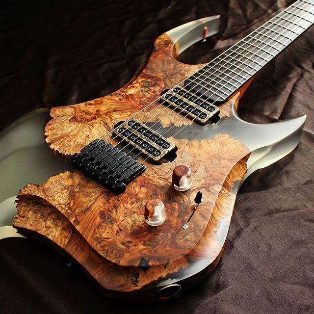 Guitarra De Madera Y Resina Epoxi Por Sw Guitars Guitar Music