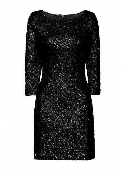 Black Sequin Dress - http://www.glamorous.com/black-sequin-dress.html