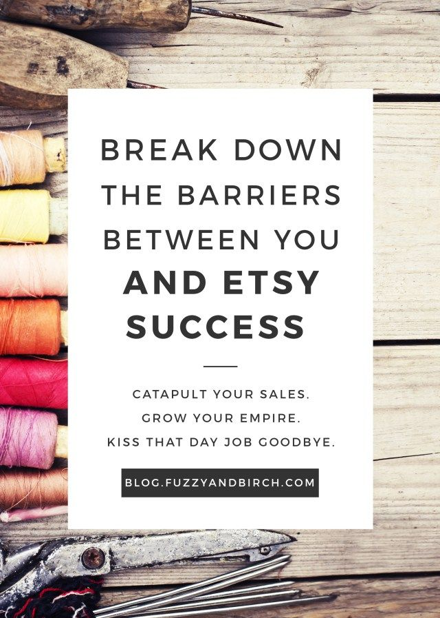 Put your Etsy shop on a One-Way Street to Success! What if you could catapult your sales, grow your empire, and kiss that icky day job goodbye? Etsy Academy is like no other business success program out there. You get NON-STOP support as your shop grows and changes. You'll get access to BRAND NEW, exclusive content twice a month…and don't forget the drop-in office hours where you can come to get custom advice whenever you need it! Click to find out more about this amazing program.
