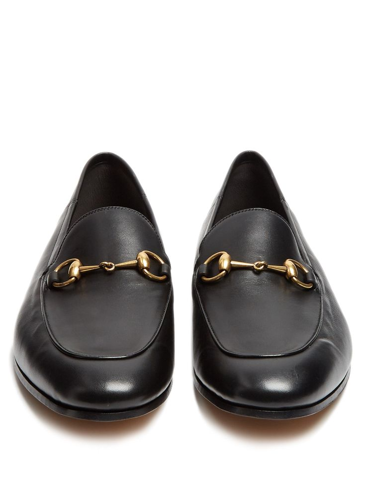 Click here to buy Gucci Brixton leather loafers at MATCHESFASHION.COM