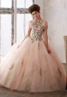Morilee Dress | Quinceanera Dress | Floral Dress |