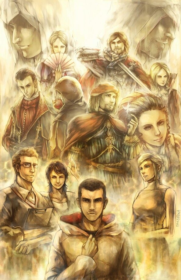 All the Assassin's Creed family :')