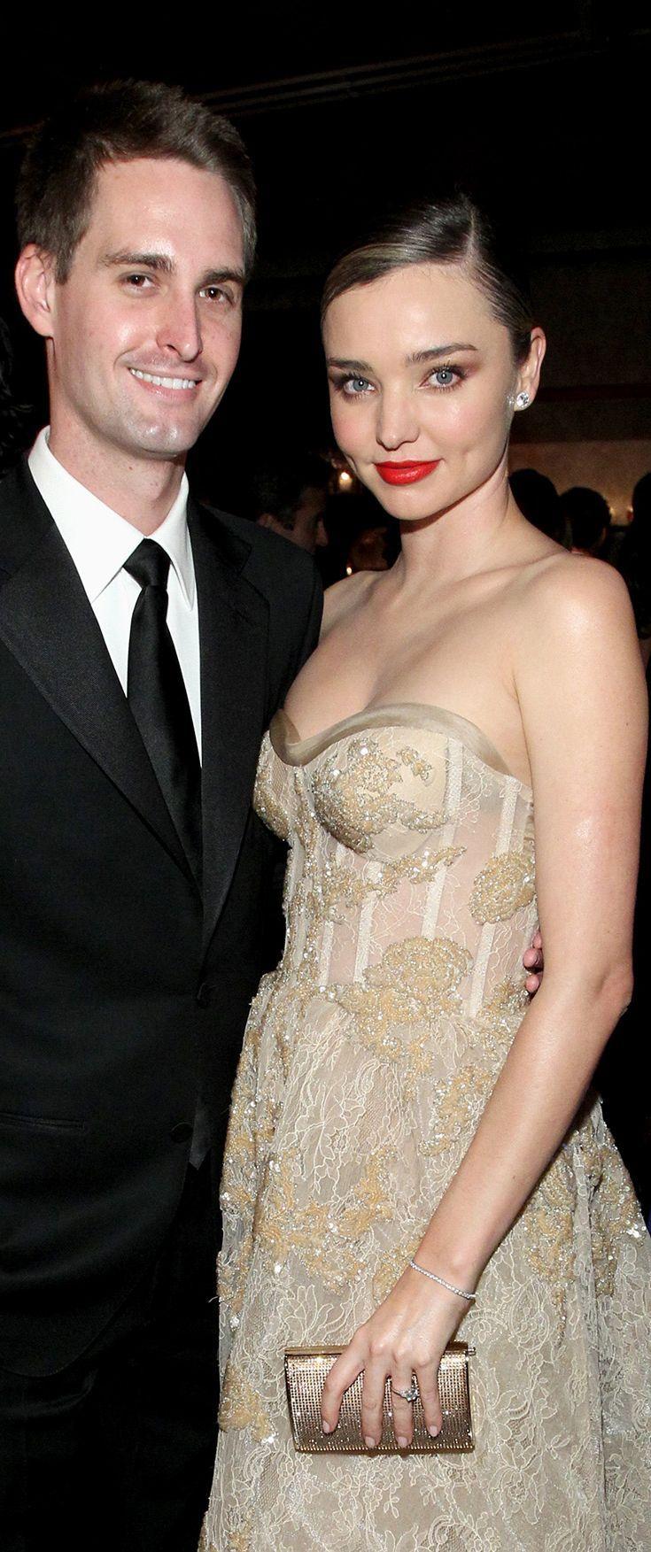 Miranda Kerr and Evan Spiegel Just Made It Official
