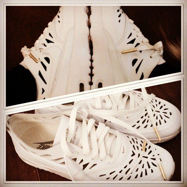 Nike Thea White Cut Out