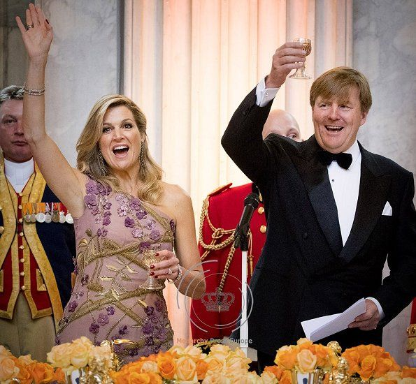 King and Queen of Netherlands
