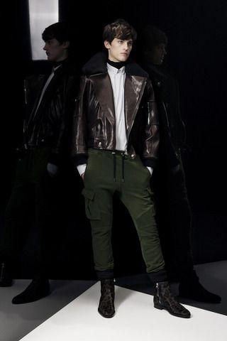 Balmain Fall 2014 Menswear Collection Slideshow on Style.com