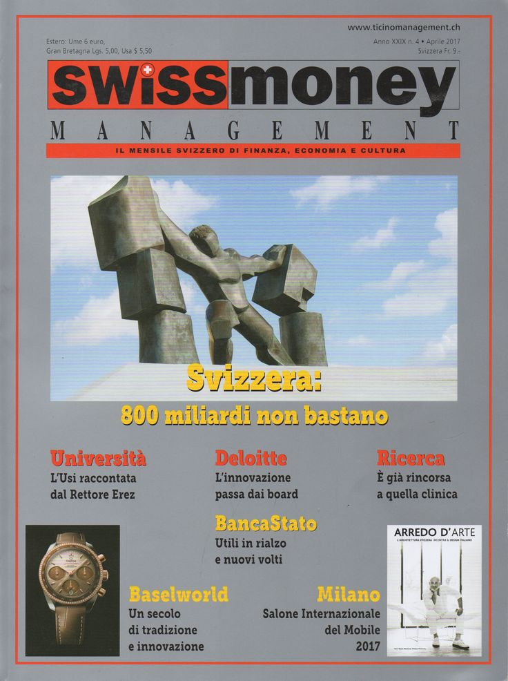 I Vassalletti on Swiss Money Magazine
