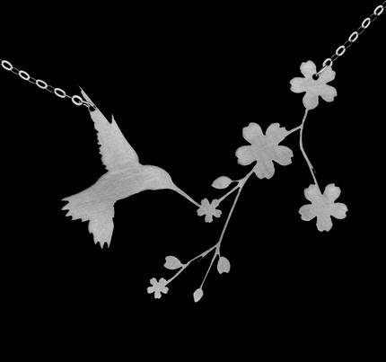 Nectar (hummingbird necklace) - JEWELRY AND TRINKETS