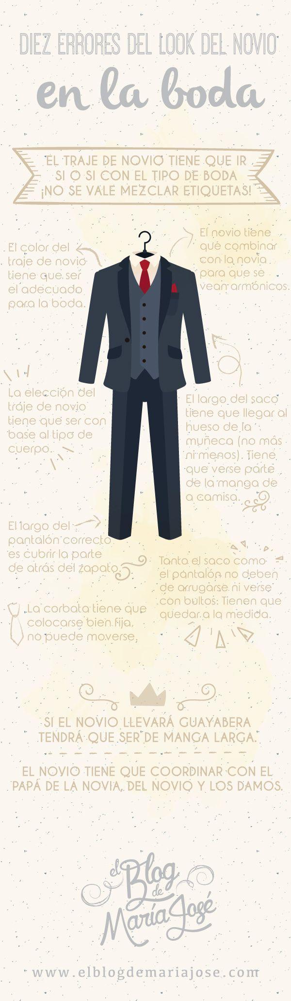 Diez mandamientos del look del novio en la boda
