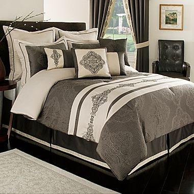 Milan 10 Piece Comforter Set Jcpenney Sleepy Time Pinterest Comforter Sets Comforter