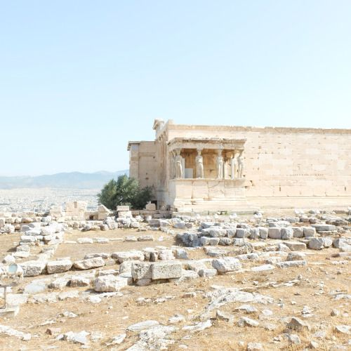 #primary #structural #frame #columns #caryatids #acropolis