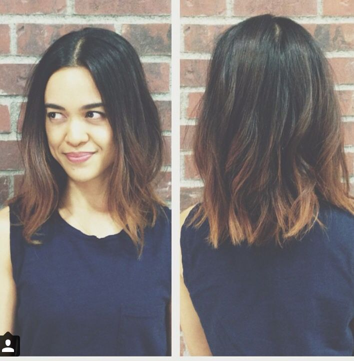 Oh that soft ombre done by Megan Merilyn Carlisle  @meganmerilynhair Sombre, balayage, hairpainting Asian, Las Vegas