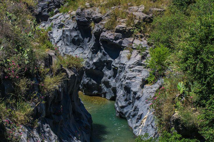 Alcantara river's gorges by Franco Romano on 500px