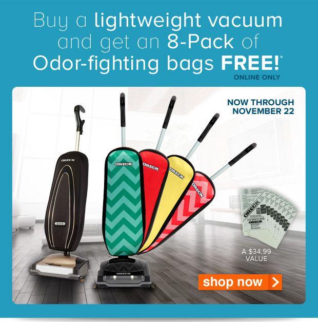 Oreck vacuums coupons
