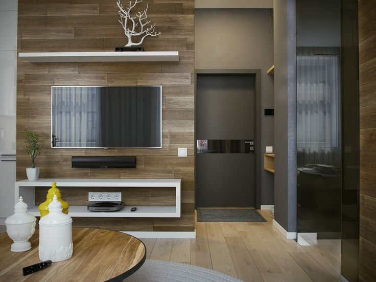Квартира в современном стиле on Behance