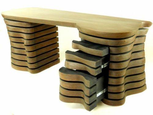 42 ausgefallene Schreibtische für Ihr Büro -  Shreibtische für Ihr Büro welle schubladen akten ordner