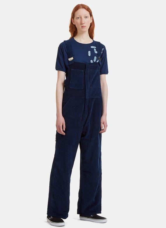 Women's Pants - Clothing | Discover Now LN-CC - Corduroy Wide Leg Dungarees