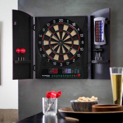 Bullshooter by Arachnid Cricketmaxx 1.0 Electronic Dart Board Complete Set | Hayneedle