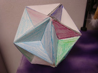 """Math Coach's Corner: Geometry foldables  **Link to the foldables may take a while to open completely.  Therea are TONS of foldables that might be used around Christmas time to create a """"Math Ornament""""."""