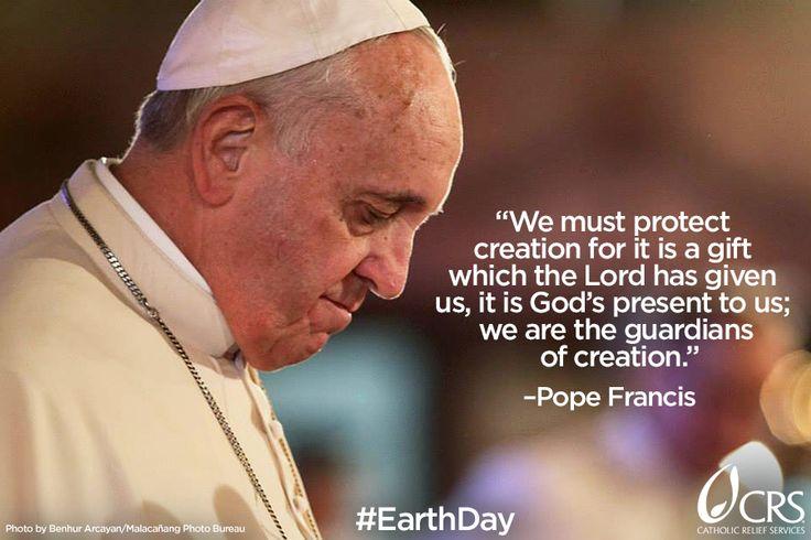 #EarthDay #PopeFrancis