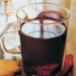 Glogg Recipe...I had a lot of this in Denmark.  This traditional Swedish Christmas punch—spiked with red wine, port, and vodka—is not for the faint of heart.  - Saveur.com