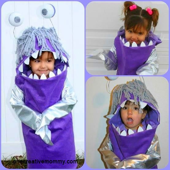 Monsters Bo costume, carnival for kids - Disfraz de Bu, de Monstruos SA, carnaval para niños