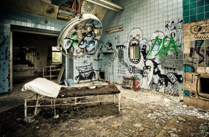 O assustador hospital abandonado de Hitler