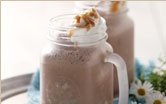 Tastefully Simple Caramel Mocha Frappe! YUMMY! All you have to add is ice & milk and put in the blender!