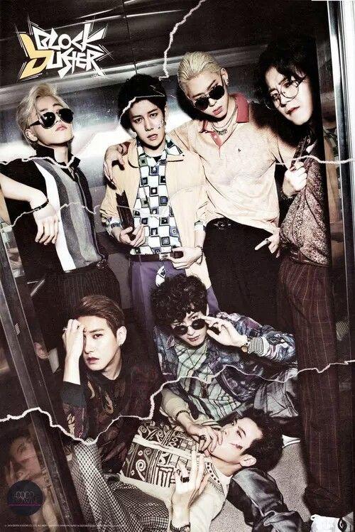 Block B #Taeil #B-Bomb #U-Kwon #Zico #Jaehyo #P.O