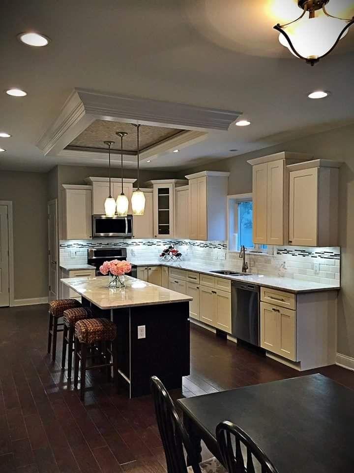 White Modern Kitchen Cabinets Design Ideas By Lily Ann