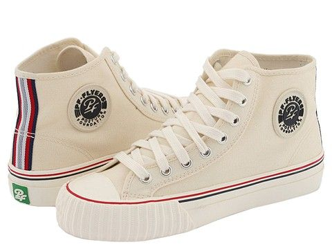 PF Flyers Center Hi Re-Issue Natural Canvas - Zappos.com Free Shipping BOTH Ways