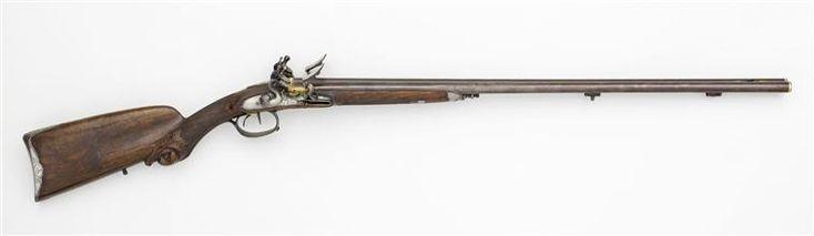 Fusil de chasse de Corvisart par Jean Le Page au château de Malmaison