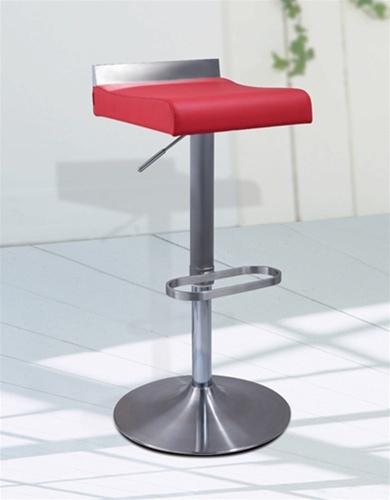 Elegant Red Acrylic Bar Stools