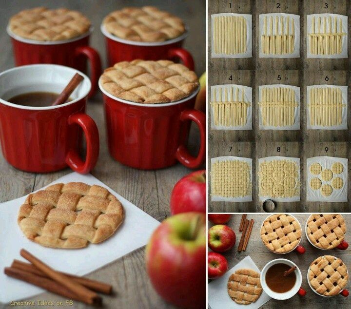 Top 10 Thanksgiving TrendsApples Cider, Cookies, Ideas, Apples Pies, Pies Crusts, Coffe Cups, Tops 10, Food, Biscuits