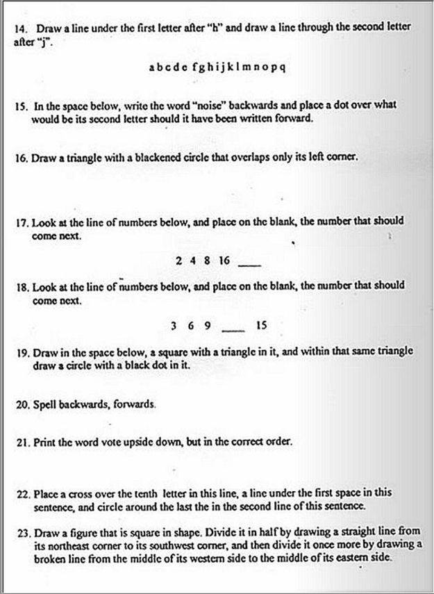 Could You Pass The Literacy Test Given To Black Voters In The 1960s? No wonder blacks were considered illiterate, these questions are so tricky, it would confuse anybody!