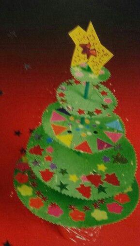 3d knutsel: Kerstboom