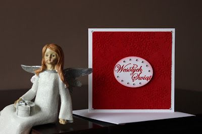 Christmas card embossing