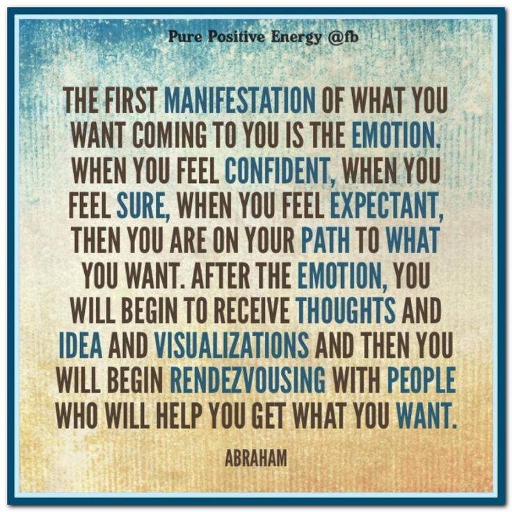 The unavoidable Law Of Attraction