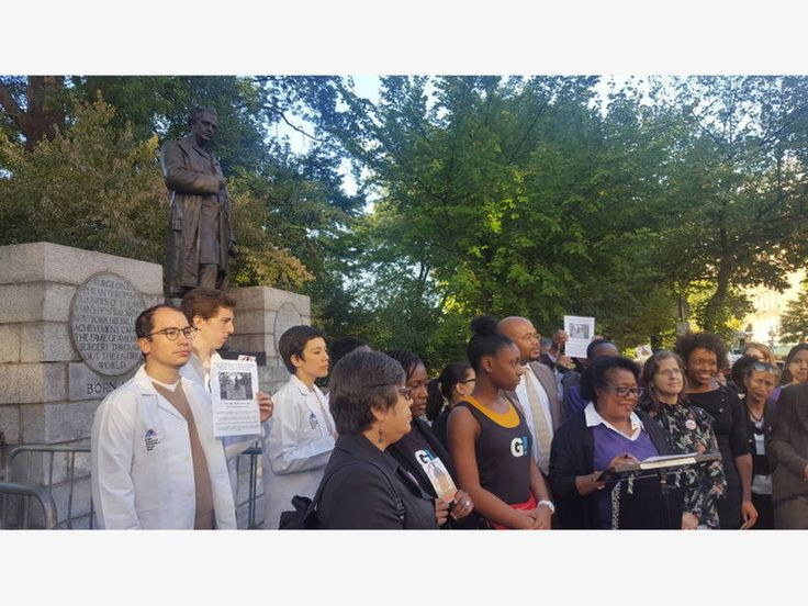 Statue Of J. Marion Sims To Move From Central Park - Central Park, NY - The monument to the doctor -- who operated on enslaved black women without anesthesia -- will be relocated to Green-Wood Cemetery in Brooklyn.