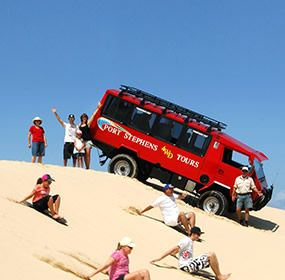 Sandboarding Shuttle