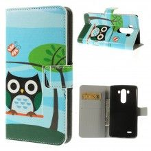 Forro Book LG G3 Design Animales Buho 25 $ 26.200,00
