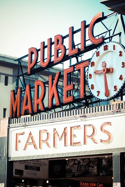 The Market will always have a special place in my heart.  The smells, the sounds, the people, the food.  So much texture and color and life.  It truly is the heart of Seattle.
