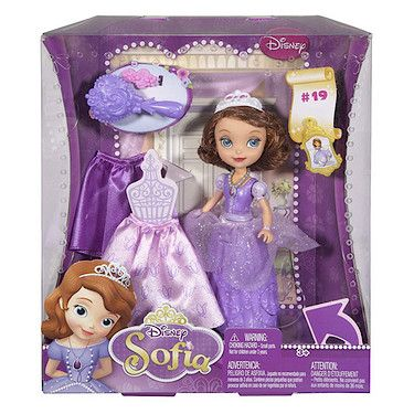 Disney Sofia The First - Curtsy Sofia Doll - The Entertainer - The Entertainer