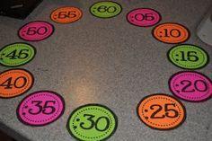 Free printable clock numbers