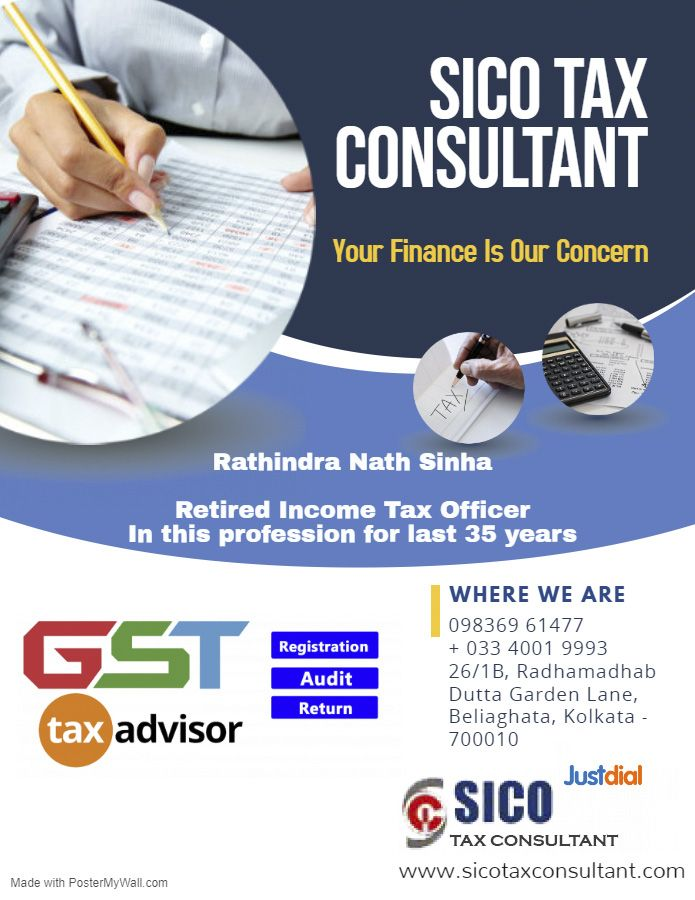 Best Tax And Gst Consultant In Kolkata Accounting Services Investing Best Investments