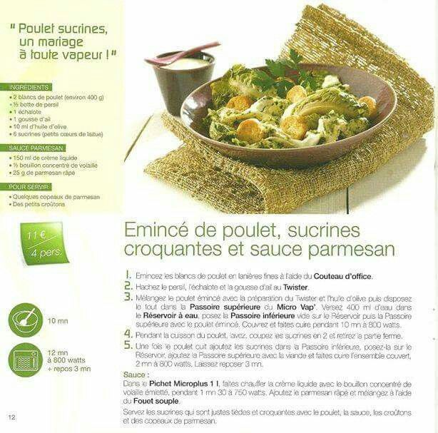 48 best micro vap fiches recettes images on pinterest for Tupperware micro vap