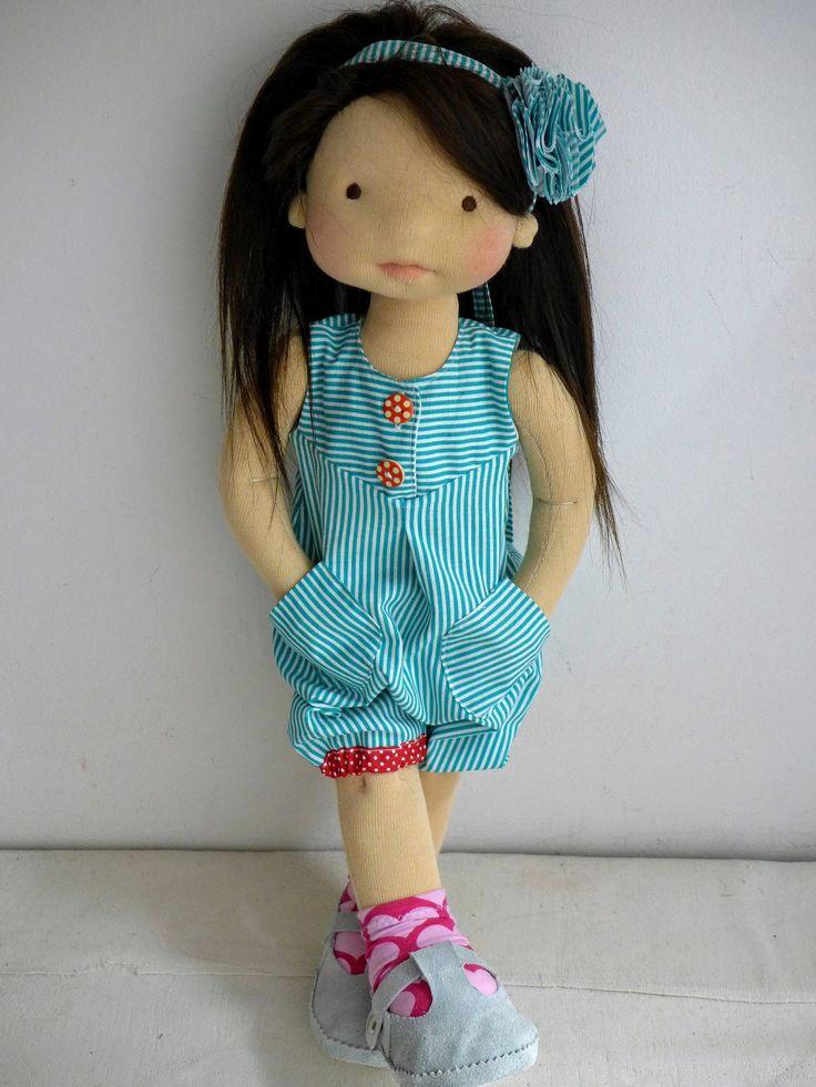 "Elizabeth 20"" doll by Dearlittledoll #dearlittledoll #waldorfdolls…"