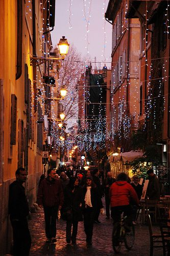 Christmas time in Trastevere, Rome ♠ | Flickr - Photo Sharing!